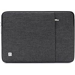 """NIDOO 17 Zoll Wasserdicht Laptop Sleeve Case Notebook Hülle Schutzhülle Tasche Laptoptasche Schutzabdeckung für 17.3"""" HP Pavilion 17 / HP 17 / 17.3"""" Dell Inspiron 17 (Dunkelgrau)"""
