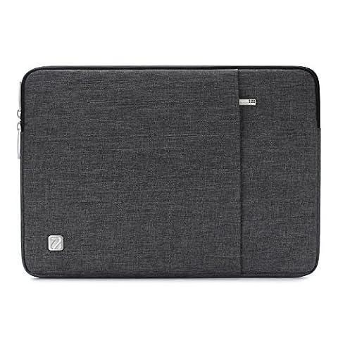 NIDOO 13 - 13.3 Pouce Imperméable à l'eau Laptop Sleeve Housse Sac Avec Ordinateur Portable Carry Case Cover pour 13