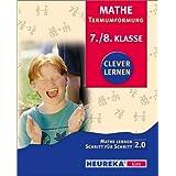 Mathe lernen Schritt für Schritt 2.0, CD-ROMs : Termumformungen, 7./8. Klasse, 1 CD-ROM Mathe lernen Schritt für Schritt. Für Windows 95/98/NT/2000