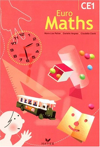 Euro Maths, CE1 : Livre de l'élève