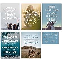 Suchergebnis Auf Amazonde Für Freundschaft Karten Bürobedarf