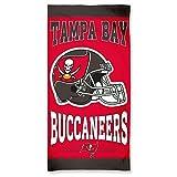 NFL Licensed Beach Towel Tampa Bay Buccaneers