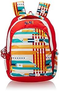 Wildcraft Wiki Daypack Polyester 34 liters Red Laptop Bag (8903338048930)