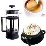 SBATTITORE Abschäumer Schaum Milch Kaffee Getränke Cappuccino Shaker Glas
