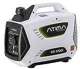 Atima Inverter Groupe électrogène Générateur Onduleur Portable Silencieux à Essence 1000W SD1000i