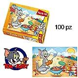 PUZZLE FÜR KINDER 100 STÜCK Tom und Jerry Brettspiel 408X276CM 161 311