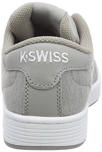 K-Swiss Hoke Heather Cmf, Baskets Basses Femme Gris (Gray/Paloma/White 096)