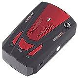 Radar Detektor - SODIAL(R)V7 LED Anzeige 360 Grad Auto Geschwindigkeitsmesser GPS Radar Detector (Rot)