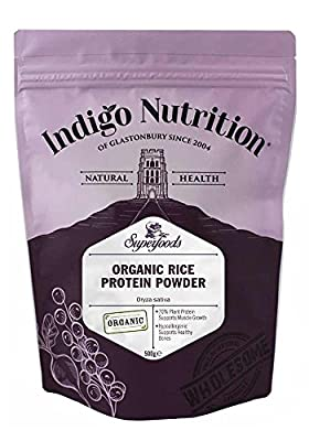 Organic Rice Protein Powder - Indigo Herbs (Vegan Protein)
