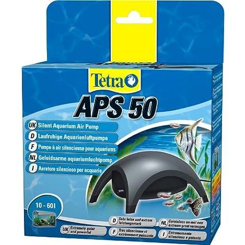 Tetra APS 50 Aquarium air pump Air pump Diaphragm pump for aquariums (very quiet, quiet, powerful, with air control to control the airflow)