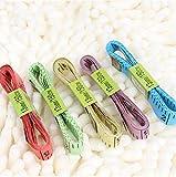 Fully 3 x Schneidermaßband Maßband Bandmaß Weich Messlinie Messungen 150cm 60 Zoll (Farbe zufällig)