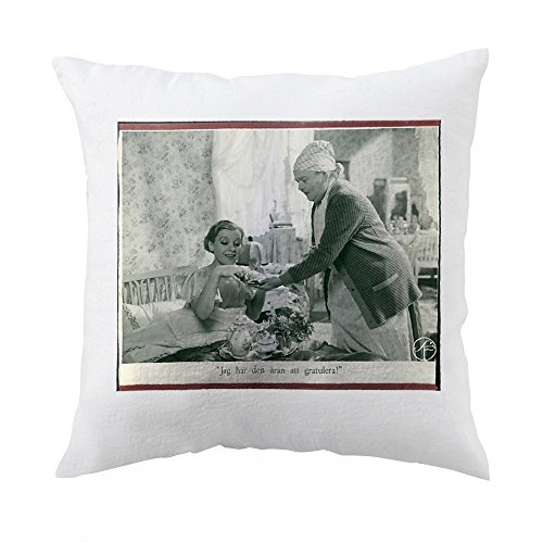pillow-with-a-scene-from-the-film-swedenhielms-with-tutta-rolf-as-julia-swedenhielm-actress-and-kari