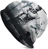 Photo de Brantley Gilbert Bonnet Unisexe Ultra Mince Slouchy Bonnets Tricotés Chapeau Élégant par NR