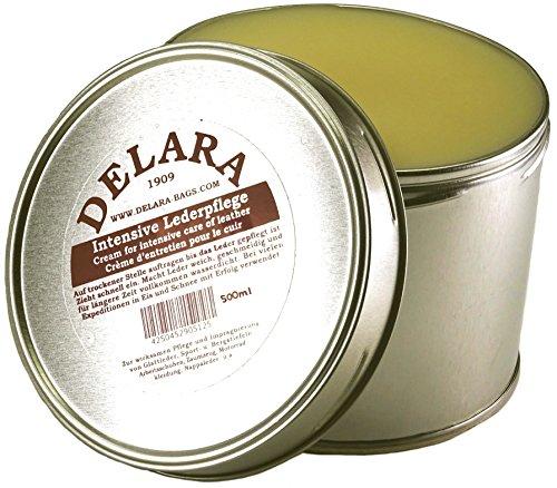DELARA Soins du cuir intensive incolore 500 ml - Fabriqué en Allemagne