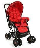 #5: Luvlap Blossom Baby Stroller (Red)