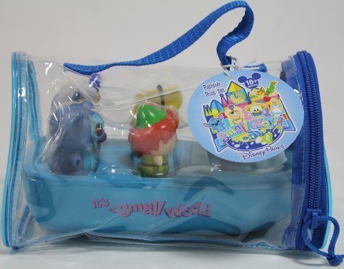 xclusive Limited Availability - 5 Piece Disney Characters It's A Small World Boat Bathtub Set by Disney Theme Park Merchandise ()