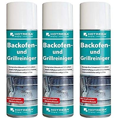 Hotrega H130940 Backofen- und Grillreiniger - 3er Set