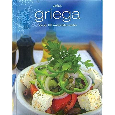 Cocina griega - mas de 100 irresistibles recetas (Padded Perfect)
