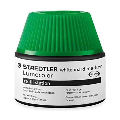Preisvergleich Produktbild Staedtler 488 51 Lumocolor whiteboard marker Nachfüllstation für 351/351 B, 5x Nachfüllen, grün