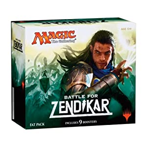 Magic The Gathering Battle for Zendikar Fat Pack Card Game