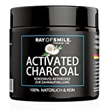 Ray of Smile-CHARBON ACTIF 60g Natural pour Blanchiment des Dents Sans Produits...