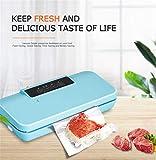 QINAIDI Vakuumierer für die Lebensmittelkonservierung, bis zu 5-mal länger haltbar, trocken und feucht,1