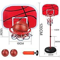 softneco Mini Canasta De Baloncesto Set Indoor,Ajustable Llanta De Baloncesto para Niños,Equipo De Juguete De Juego De La Cesta Familiar B