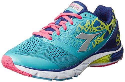 Diadora Scarpa Running Sneaker Jogging Donna Mythos blushield w Blue atoll/dp ul Scarpe Celeste 1