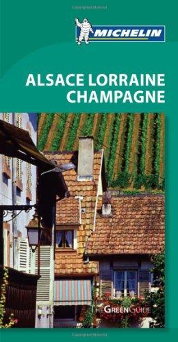 Michelin Green Guide Alsace, Lorraine, Champagne