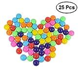 TOYMYTOY Babybälle Bälle für Kinder Bällebad Plastikbälle 25 Stück