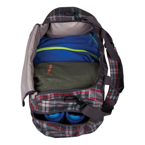 Chiemsee Matchbag X-Small - Borsone da viaggio, Unisex, Sporttasche Matchbag X-Small, menta artica, 16 litri check magnet