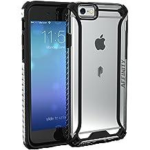 Funda iPhone 6S Plus - Poetic [Affinity Series]-[Agarre Parachoques TPU] [Protección Esquina] Funda Protectora Hibrida para Apple iPhone 6 Plus/iPhone 6S Plus 5.5 Pulgadas Negro (3 años Garantía del Fabricante Poetic)