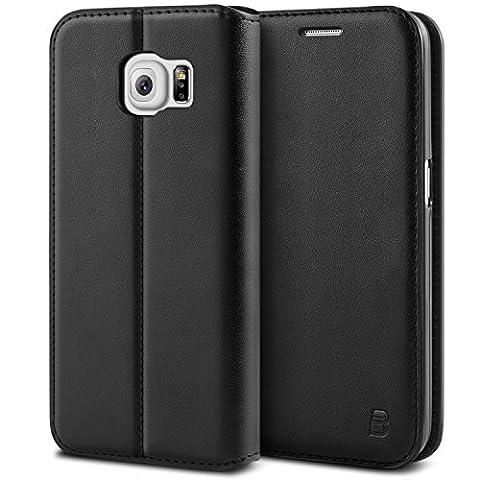 Etui Porte Carte Galaxy S6 - Coque Samsung Galaxy S6 Edge, BEZ® Housse
