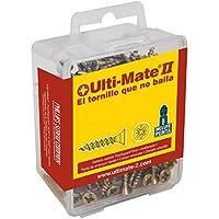 Ulti-Mate II S35030L1 Caja Grande con Tornillos de Alto Rendimiento para Madera Acabado BICROMATADO y Punta PSD de 25mm incluida de 3,5 x 30 mm, Set de 100 Piezas