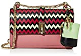 Trussardi Jeans Damen Holly Smooth Clutch, Old Pink, 26.5x16x9 centimeters
