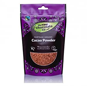 (6 Pack) The Raw Chocolate Company Ltd Organic Fairtrade Cacao Powder 180g