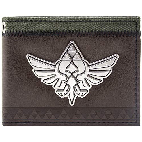 Cartera Nintendo Legend of Zelda Skyward Sword marrón