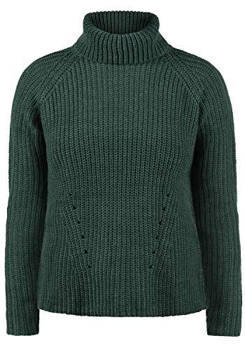 ONLY Romi Rollkragen Pullover Rolli Strickpullover Mit Rollkragen Oversized, Größe:XL, Farbe:Ponderrose Pine -