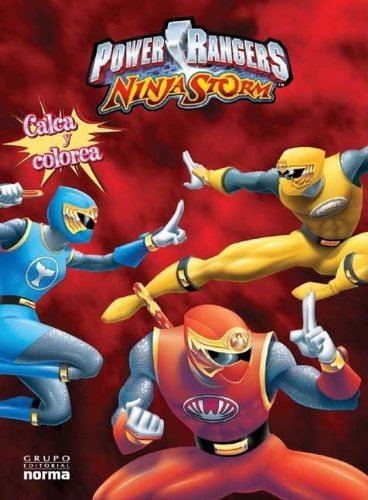 Ninja Storm - Calca y Colorea