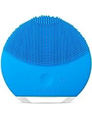 FOREO LUNA mini 2 Brosse visage en silicone doux pour tous les types de peau Aquamarine/Rechargeable via câble USB