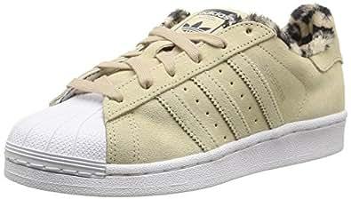 adidas Originals Superstar, Damen Sneakers, Beige (Dust Sand S15-St/Dust Sand S15-St/Ftwr White), 38 2/3 EU (5.5 Damen UK)