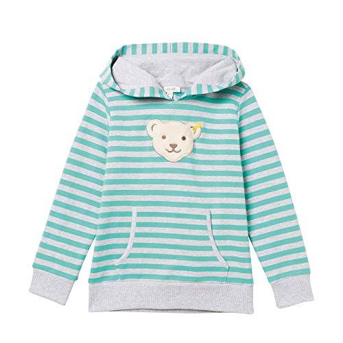 Steiff Jungen Sweatshirt, Grün (Aqua Green 5007), 110 Aqua-sweatshirt