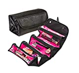 WideWings Cosmetic Bag | Roll N Go | Makeup Organizer |...