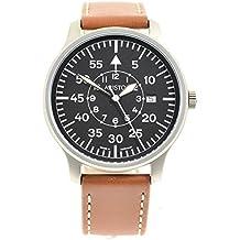 Aristo 3H80 - Reloj de cuarzo negro