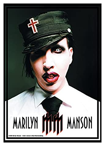Poster Drapeau Officiel - Official Merchandise Band Posterflag - Marilyn Manson - Uniform