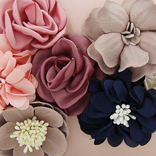 Flada , Damen Clutch rosa rosa (1) M rose