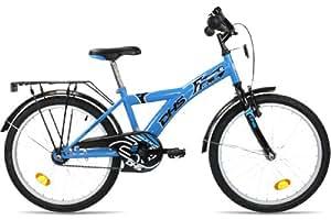 kinderfahrrad 20 zoll dhs racer f20 r cktrittbremse kinderrad jungenrad farbe blau. Black Bedroom Furniture Sets. Home Design Ideas