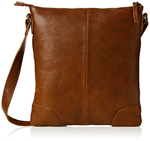 Fat Face Women's Lily Rich Grain Cross Body Lingerie Bag, Brown (Chestnut), One Size Test
