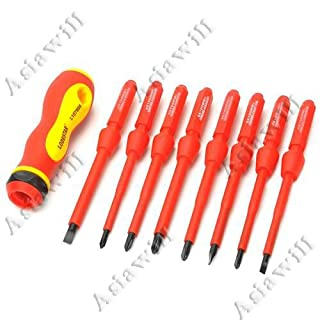 Asiawill® Multifunction 8-in-1 Electrical professional maintenance precision Screwdriver Set