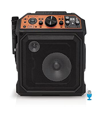 Singing Machine SDL2093 HDMI Karaoke Machine with Auto-Tune, Bluetooth, Mic and Recahrable Battery